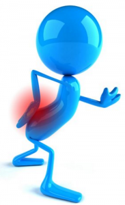 Sciatica_Blue cartoon